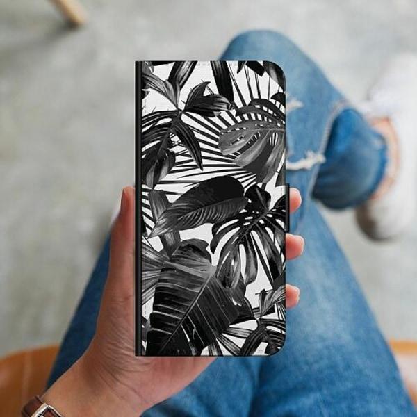 Samsung Galaxy Alpha Plånboksskal Löv