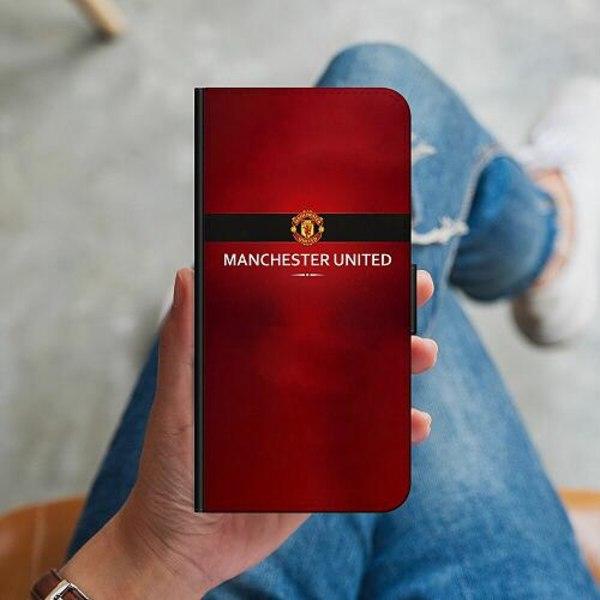 Huawei P40 Lite Plånboksskal Manchester United