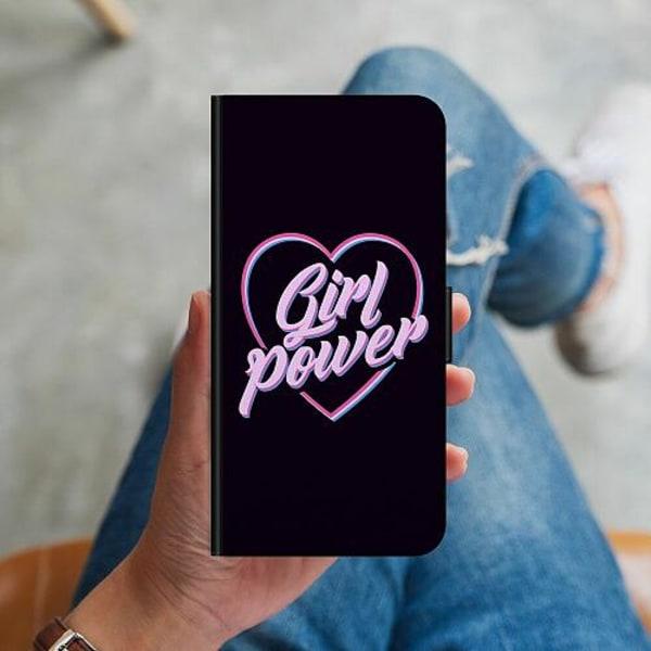 Huawei P40 Lite Plånboksskal Neon Girl Power