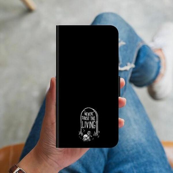 Samsung Galaxy S10 Plus Plånboksskal NEVER TRUST THE LIVING