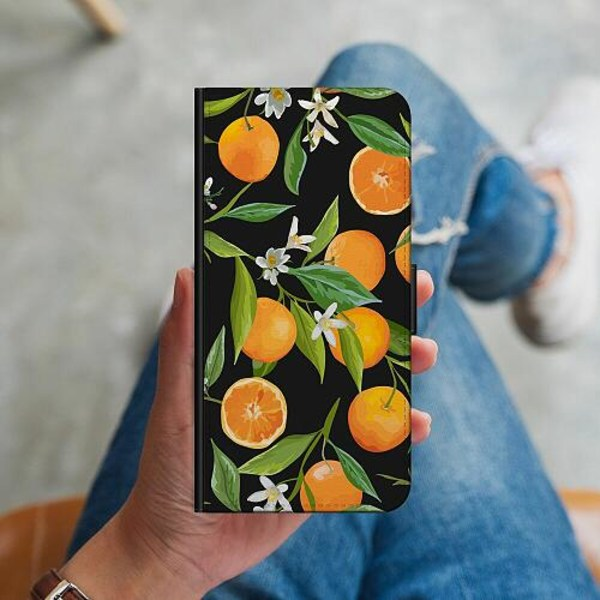 Samsung Galaxy A41 Plånboksskal Orange Juice