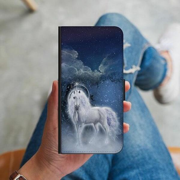 Huawei P40 Lite Plånboksskal Unicorn