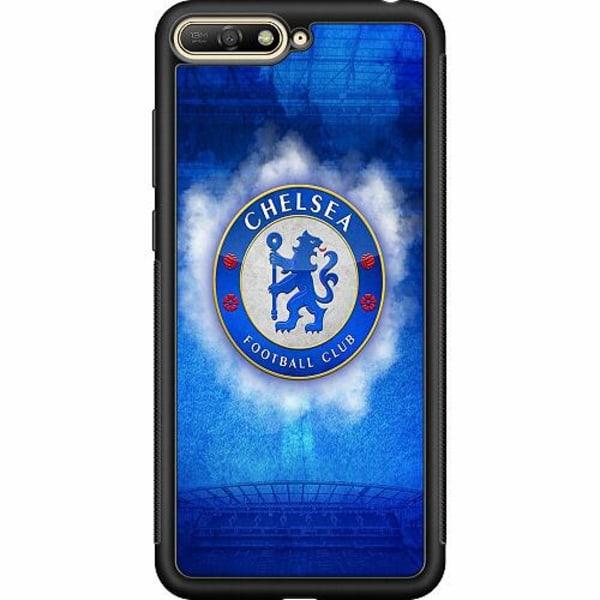 Huawei Y6 (2018) Soft Case (Svart) Chelsea