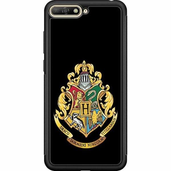 Huawei Y6 (2018) Soft Case (Svart) Harry Potter