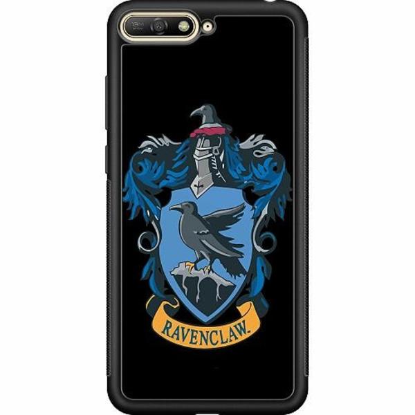 Huawei Y6 (2018) Soft Case (Svart) Harry Potter - Ravenclaw