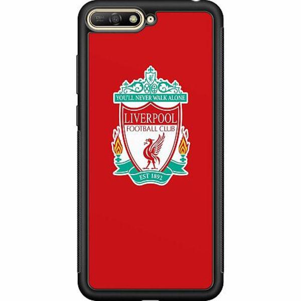 Huawei Y6 (2018) Soft Case (Svart) Liverpool
