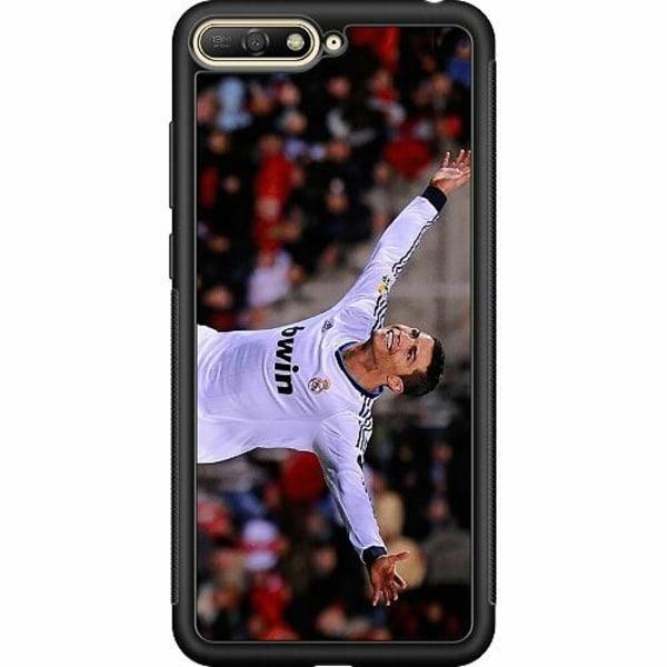 Huawei Y6 (2018) Soft Case (Svart) Ronaldo