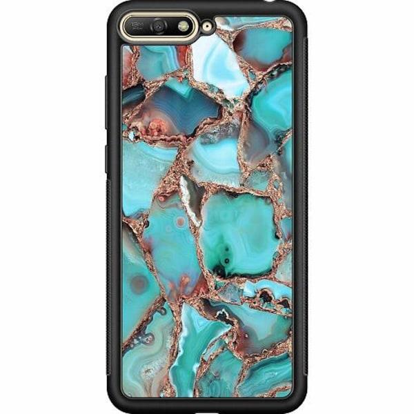 Huawei Y6 (2018) Soft Case (Svart) Santorini
