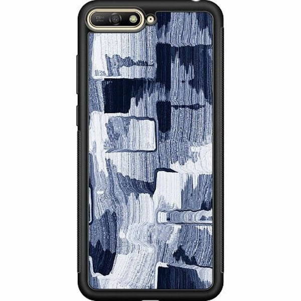 Huawei Y6 (2018) Soft Case (Svart) Stroked Out