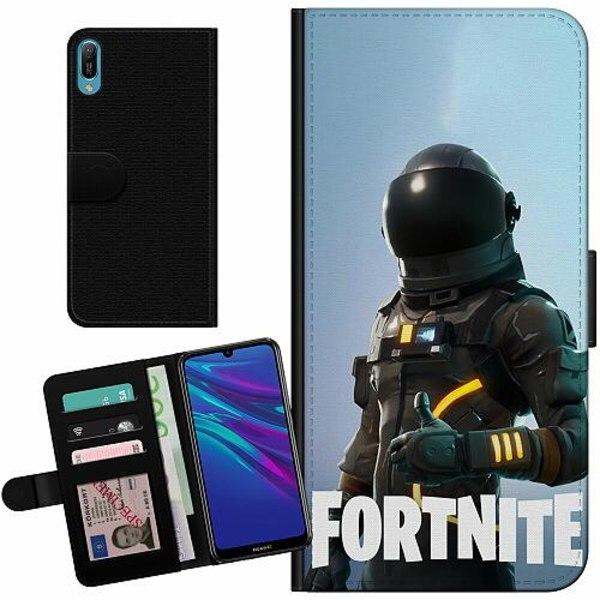 Huawei Y6 (2019) Billigt Fodral Fortnite Dark Voyager