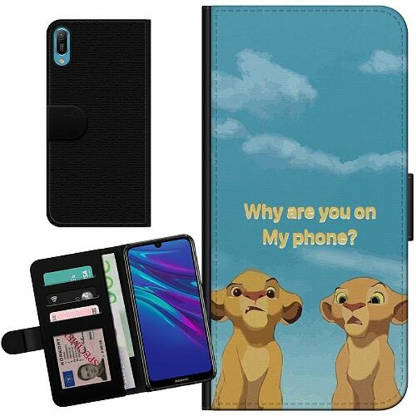 Huawei Y6 (2019) Billigt Fodral My Phone
