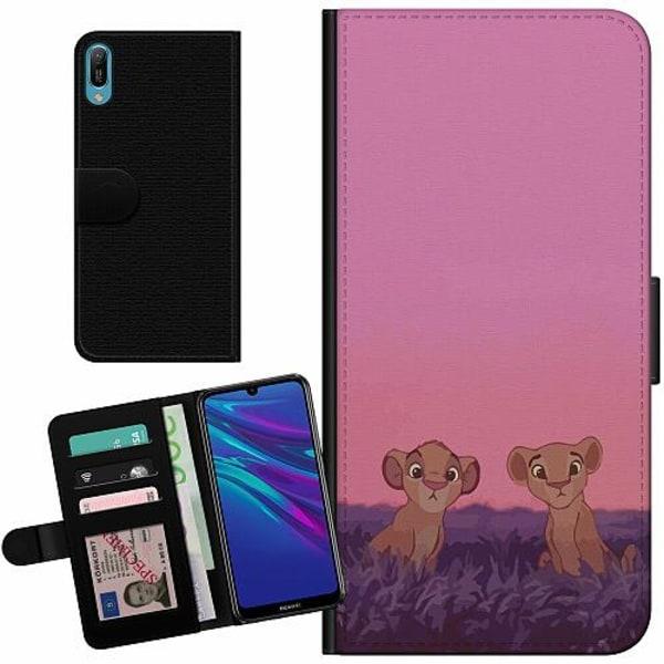 Huawei Y6 (2019) Billigt Fodral Pink