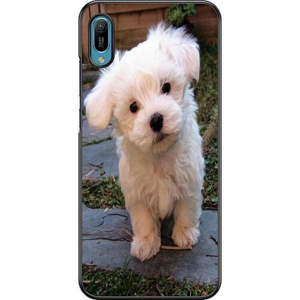 Huawei Y6 (2019) Hard Case (Svart) Hund