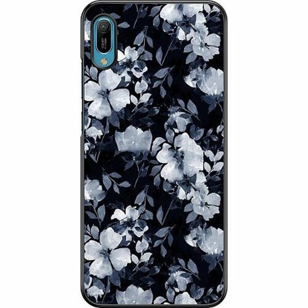 Huawei Y6 (2019) Hard Case (Svart) Moonlight Meadow
