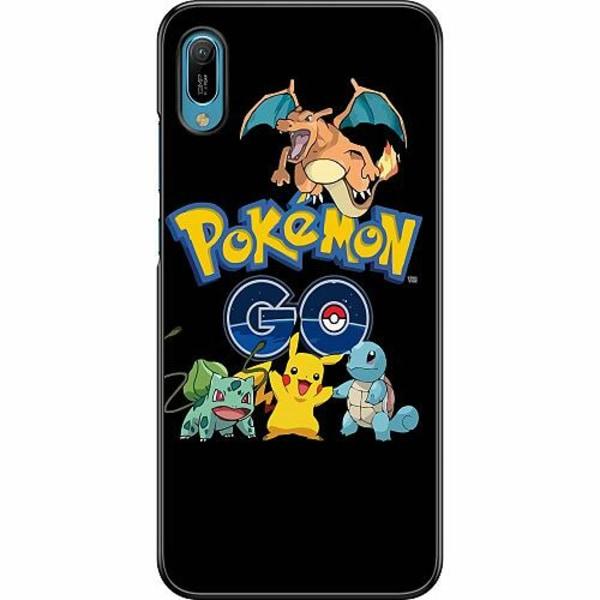 Huawei Y6 (2019) Hard Case (Svart) Pokemon