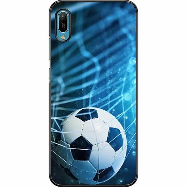 Huawei Y6 (2019) Hard Case (Svart) VM Fotboll 2018