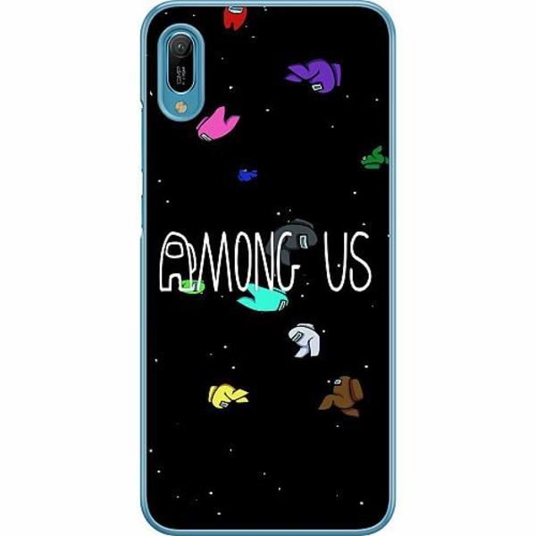 Huawei Y6 (2019) Hard Case (Transparent) Among Us
