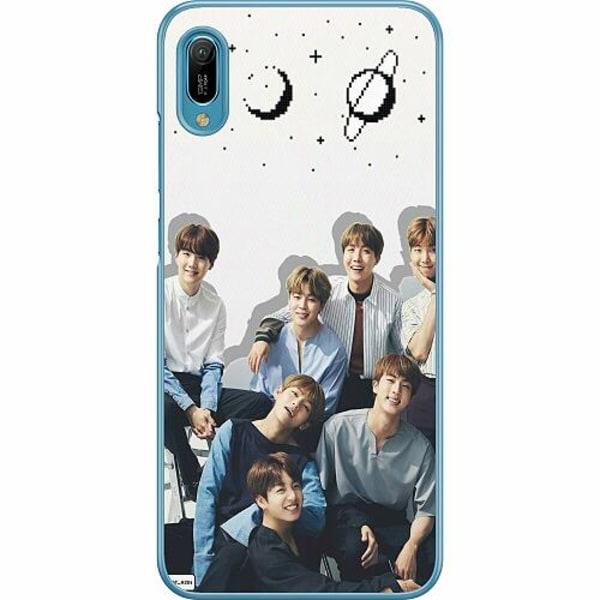 Huawei Y6 (2019) Hard Case (Transparent) K-POP BTS