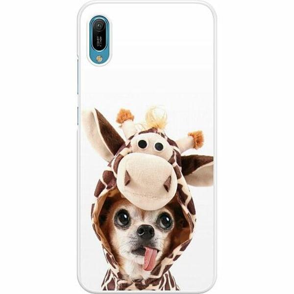 Huawei Y6 (2019) Hard Case (Vit) Chihuahua