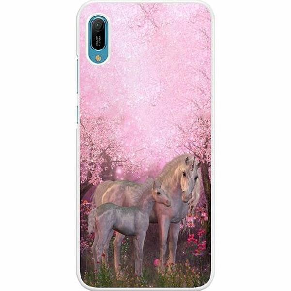 Huawei Y6 (2019) Hard Case (Vit) Unicorn