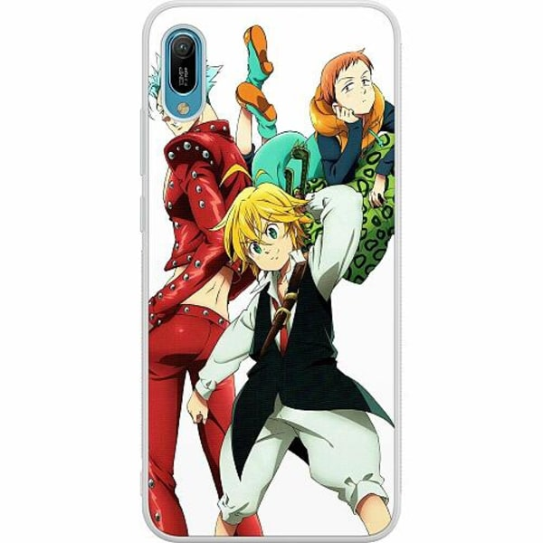 Huawei Y6 (2019) Soft Case (Frostad) Anime