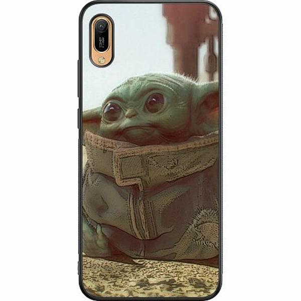 Huawei Y6 (2019) Soft Case (Svart) Baby Yoda
