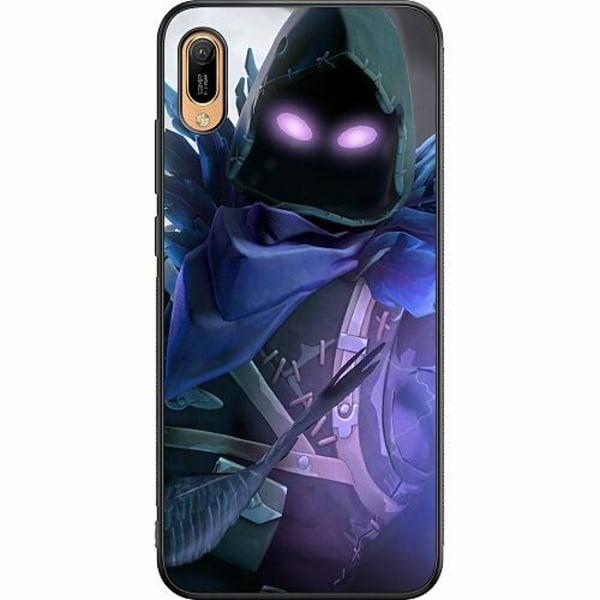 Huawei Y6 (2019) Soft Case (Svart) Fortnite The Raven