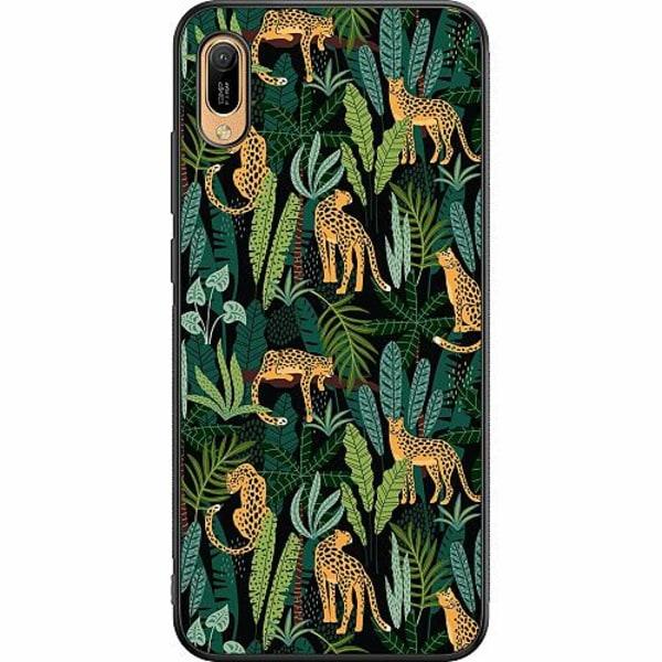 Huawei Y6 (2019) Soft Case (Svart) Jungle Days