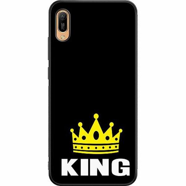 Huawei Y6 (2019) Soft Case (Svart) King 01