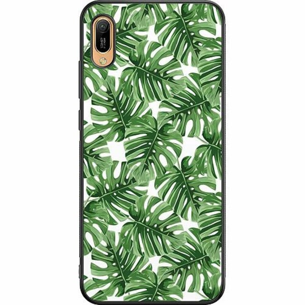 Huawei Y6 (2019) Soft Case (Svart) Löv