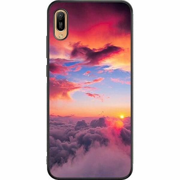 Huawei Y6 (2019) Soft Case (Svart) Lovely Sky