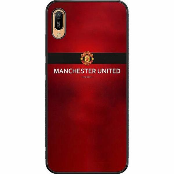 Huawei Y6 (2019) Soft Case (Svart) Manchester United
