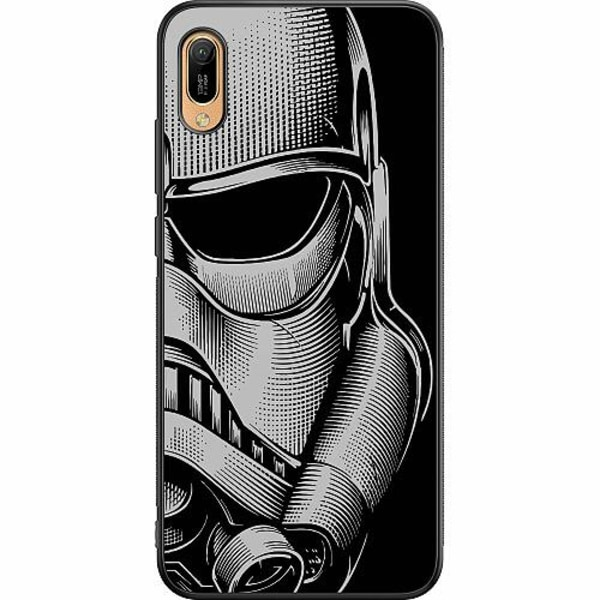 Huawei Y6 (2019) Soft Case (Svart) Stormtrooper