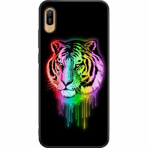 Huawei Y6 (2019) Soft Case (Svart) Tiger