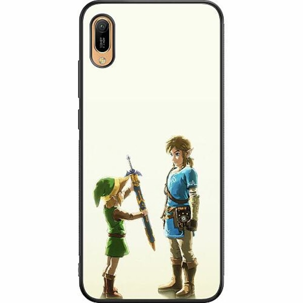 Huawei Y6 (2019) Soft Case (Svart) Zelda