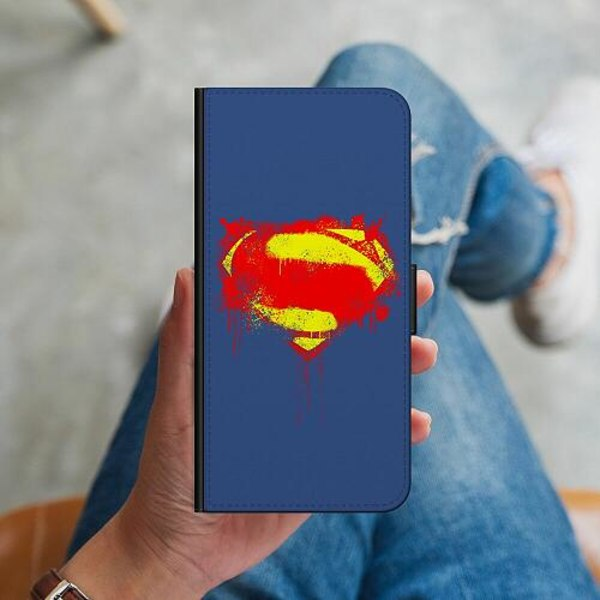 Huawei Y6s (2019) Plånboksskal Superman Splat