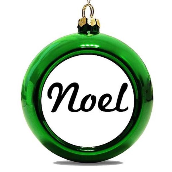 Julgranskula Grön Noel