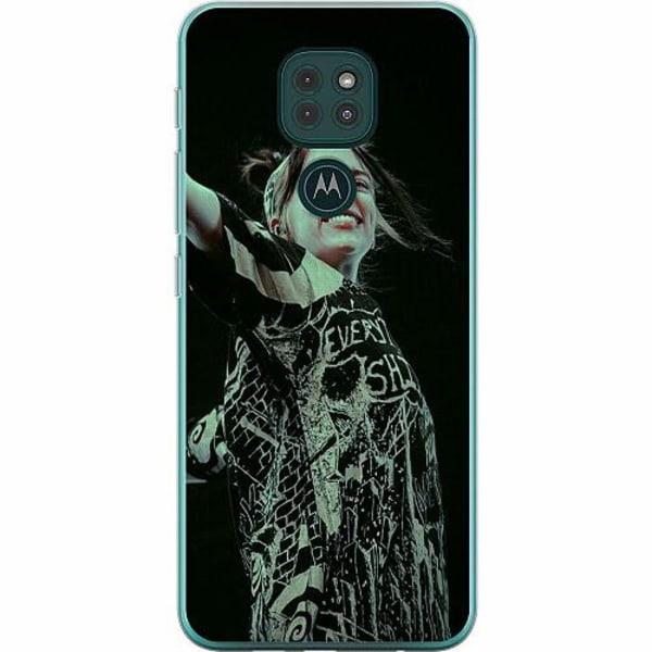 Motorola Moto G9 Play Thin Case Billie Eilish 2021