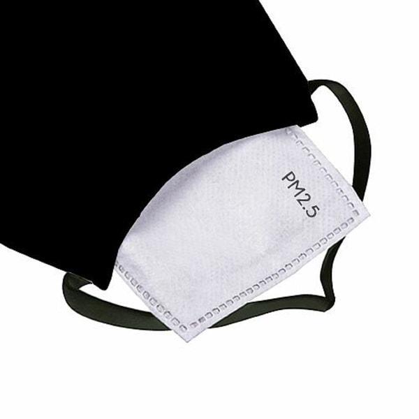 Munskydd, Tvättbar Skyddsmask med Filter - Black