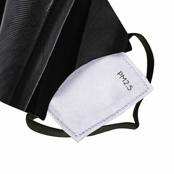 Munskydd, Tvättbar Skyddsmask med Filter - Diabolical Raven