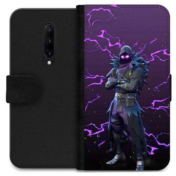 OnePlus 7 Pro Wallet Case Raven Fortnite Thunder