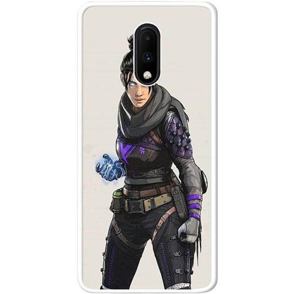 OnePlus 7 Vitt Mobilskal Apex Legends - Wraith
