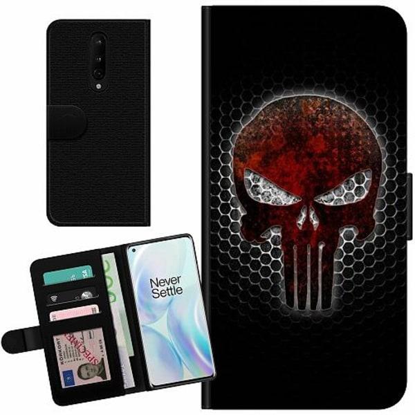 OnePlus 8 Billigt Fodral Dödskalle