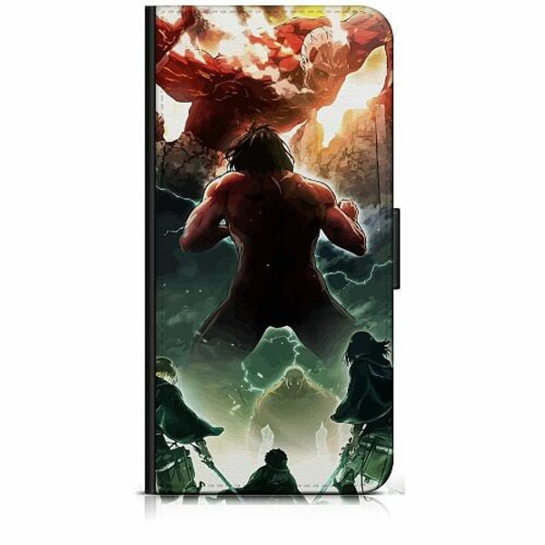 Sony Xperia 5 Plånboksfodral Attack On Titan