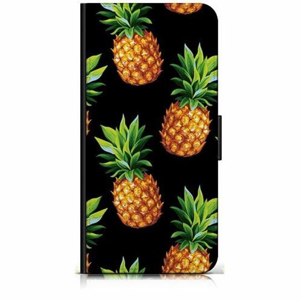 Sony Xperia 5 Plånboksfodral Ananas