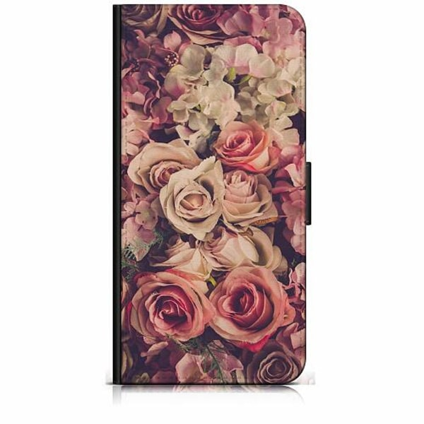 Sony Xperia 5 Plånboksfodral Blommor
