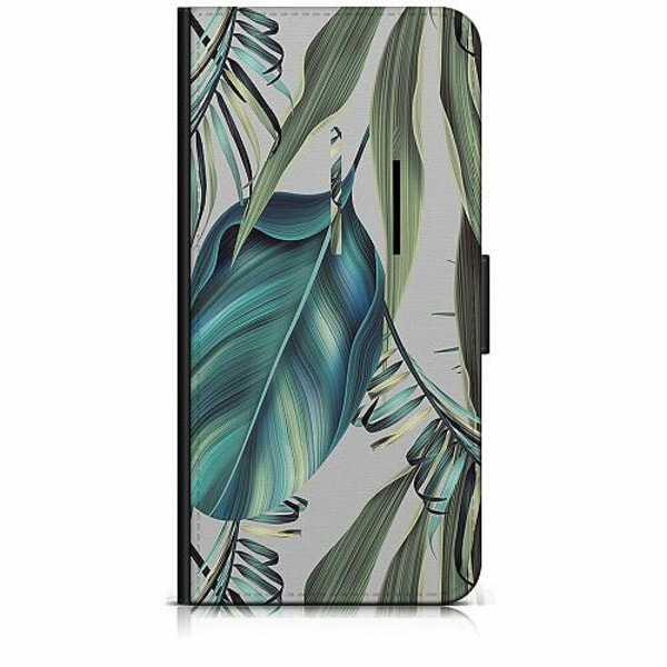 Sony Xperia 5 Plånboksfodral Löv