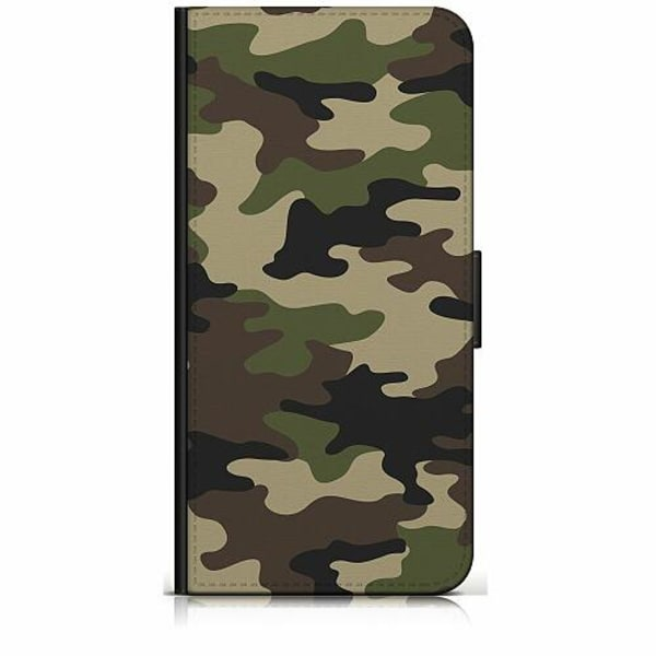 Sony Xperia 5 Plånboksfodral Militär
