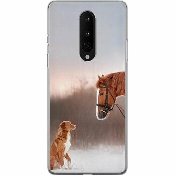 OnePlus 8 Mjukt skal - Dog Meets Horse