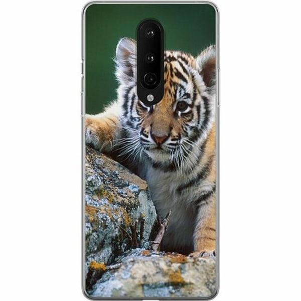 OnePlus 8 Mjukt skal - Tiger
